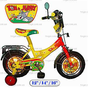 Велосипед «Том и Джерри», 16 дюймов, 121620