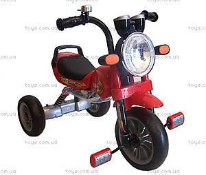 Велосипед трехколесный детский, красный, Т300 R/S, фото