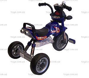 Велосипед трехколесный детский, синий, Т300 B/S, купить