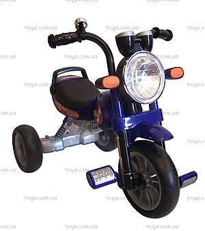 Велосипед трехколесный детский, синий, Т300 B/S, фото