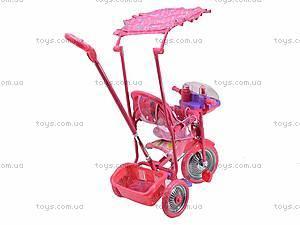 Велосипед трехколесный, колясочного типа, CT-117A1, купить