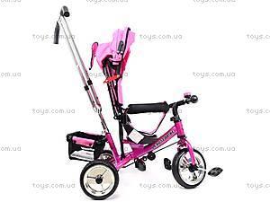 Велосипед трехколесный, розовый, XG18919-T16-4, купить