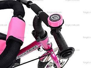 Велосипед трехколесный, розовый, XG18919-T16-4, фото