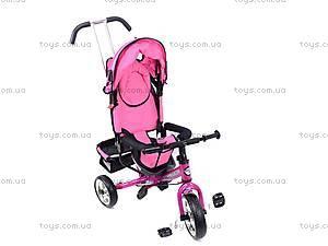 Велосипед трехколесный, розовый, XG18919-T16-4, отзывы
