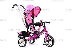 Велосипед трехколесный, розовый, XG18919-T16-4