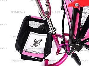 Велосипед трехколесный, розовый, XG18919-T16-4, цена