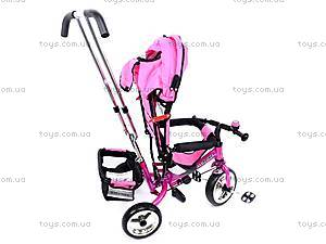 Велосипед трехколесный, розовый, XG18919-T16-4, игрушки