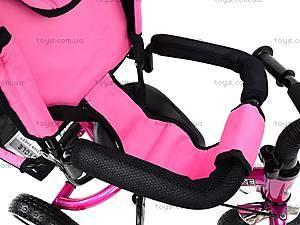 Велосипед трехколесный, розовый, XG18919-T16-4, детские игрушки