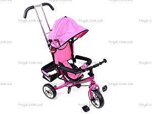 Велосипед трехколесный, розовый, XG18919-T16-4, магазин игрушек