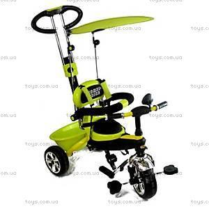 Велосипед трехколесный с ручкой «Lemon», BT-CT-0013 LE