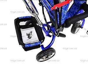 Велосипед трехколёсный, голубой, XG18919-T16-3, фото
