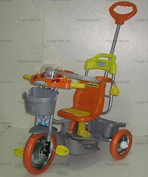 Велосипед Trike, оранжевый, 2010