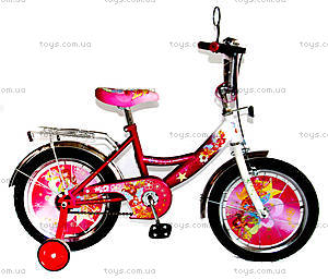 Велосипед «Винкс», белый с розовым, BT-CB-0016