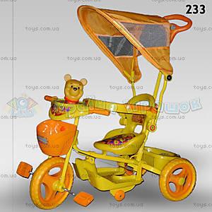 Велосипед «Винни», оранжевый, 233