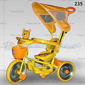 Велосипед «Винни Пух», оранжевый, 235