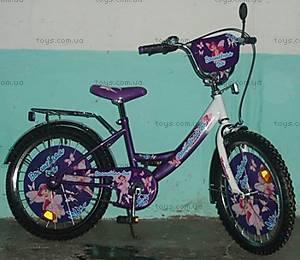 Велосипед «Волшебная Фея», фиолетовый c белым, 20P PURPLE-WH