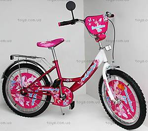 Велосипед «Волшебная Фея», малиновый c белым, 20P CRIMSON-W