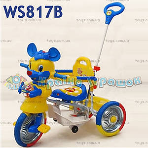 Велосипед Walk, с погремушкой, WS817B