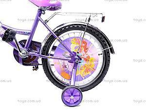 Велосипед Winx, 18W PURPLE-WH, фото