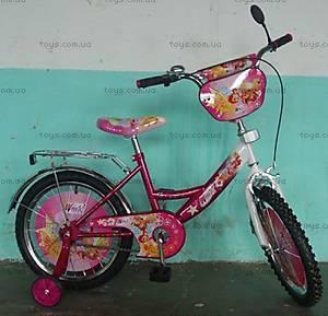 Велосипед Winx, малиново-белый, 18W CRIMSON-W