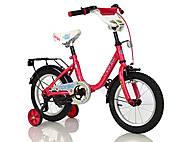 """Велосипед 14"""" дюймов «CORSO» (розовый), С14560"""