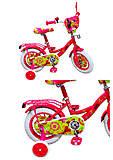 "Велосипед 2-х колесный 12 дюймов ""Minnie Mouse"", со звонком, зеркалом, без ручного тормоза , 191204"