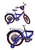 Велосипед 2-х колесный 16'' со звонком + страховка, 181608, цена