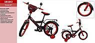 Велосипед 2-х колесный со звонком 18'', 181842, интернет магазин22 игрушки Украина