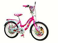 "Детский велосипед ""Minnie Mouse"" 2-х колес 20 дюймов со звонком, 192005, фото"