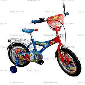 Велосипед 2-х колесный для детей Angry Birds, 141602-J