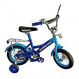 Велосипед 2-х колесный, диаметр 14'' со звонком (синий), 171435, купить