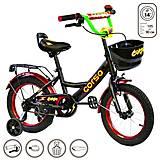 """Велосипед 2-х колёсный """"Corso"""" 14 дюймов, черный, G-14370, купить"""