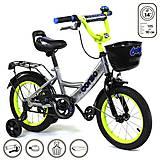 """Велосипед 2-х колёсный """"Corso"""" 14 дюймов, серый, G-14590, купить"""
