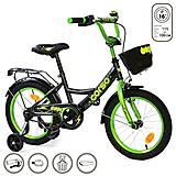 """Велосипед 2-х колёсный """"Corso"""" 16 дюймов, черный, G-16775, отзывы"""