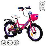 """Велосипед 2-х колёсный """"Corso"""" 16 дюймов, розовый, G-16075, отзывы"""