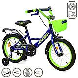 """Велосипед 2-х колёсный """"Corso"""" 16 дюймов, синий, G-16020, купить"""
