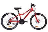 """Велосипед 24"""" Formula ACID 1.0 DD 2019 (красно-черный с синим), OPS-FR-24-126, купить"""