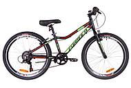 """Велосипед 24"""" Formula ACID 1.0 rigid 2019 (черно-зеленый с красным), OPS-FR-24-132"""