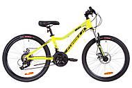 """Велосипед 24"""" Formula ACID 2.0 DD 2019 (желто-черный с синим), OPS-FR-24-134, фото"""