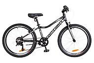 """Велосипед 24"""" Optimabikes BLACKWOOD 2018 (черно-белый), OPS-OP-24-035"""
