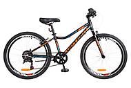 "Велосипед 24"" Optimabikes BLACKWOOD 2018 (черно-оранжево-синий), OPS-OP-24-037"