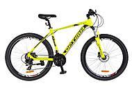 "Велосипед 27.5"" Optimabikes F-1 HDD 2018 (желтый неон), OPS-OP-27.5-022, фото"
