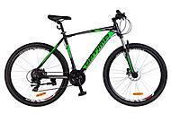 "Велосипед 29"" Optimabikes F-1 HDD 2018 (черно-зеленый), OPS-OP-29-051"