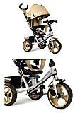 Детский велосипед Best Trike (бежевый), 5700-3540, отзывы