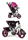 Детский трёхколесный велосипед Best Trike (фиолетовый), 5700-4450, отзывы