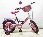 Велосипед Балеринка dark purple + white, T-21424