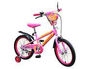 Велосипед детский Like2bike Sprint, 2-х колёсный, розовый, 16 дюймов, 191631, фото