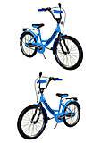Велосипед детский 2-х колёсный 20 дюймов Like2bike RALLY,  голубой, без тренировочных колёс , 192013, отзывы