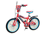 Велосипед детский 2-х колёсный 20 дюймов Like2bike Active, красный, без тренировочных колёс , 192026, отзывы
