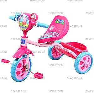 Детский трехколесный велосипед Peppa, Т57573